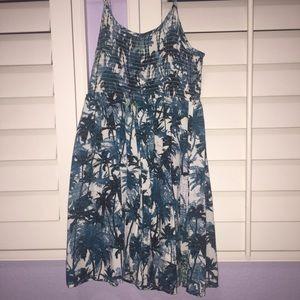 Kids Mudd Blue and Black Summer Dress